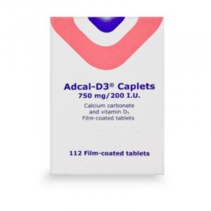 Adcal-D3-750mg-20- I.U-112-Caplets
