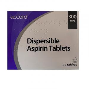 Aspirin-300mg-Dispersible-32-Tablets