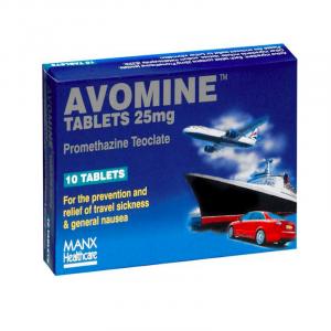 Avomine-Travel-Sickness-Promethazine-25mg-28-Tablets