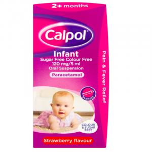 Calpol-Infant-Suspension-Colour-&-Sugar-Free-100ml