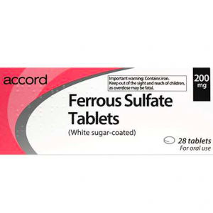 Ferrous-Sulfate- Tablets-200mg- 28