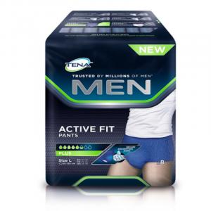 TENA-Men-Premium-Fit-Level-4-Pants-Large -Pack-of- 8