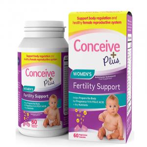 Women's-Fertility-Support- -CONCEIVE-PLUS-Fertility-Supplements-60-Capsules