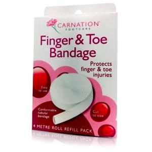 Carnation-Finger-and-Toe-bandage-4Metre-Roll-Refill-Pack