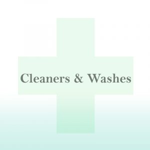 Cleaners & Washes